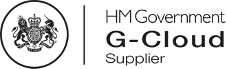 HM Government G-Cloud Supplier logo