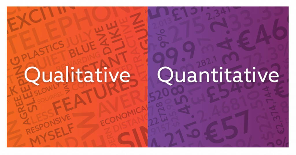 Quantitative and qualitative research, what's the difference?